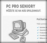 PC Servis website