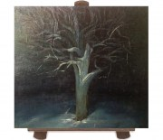 Art painting - the tree